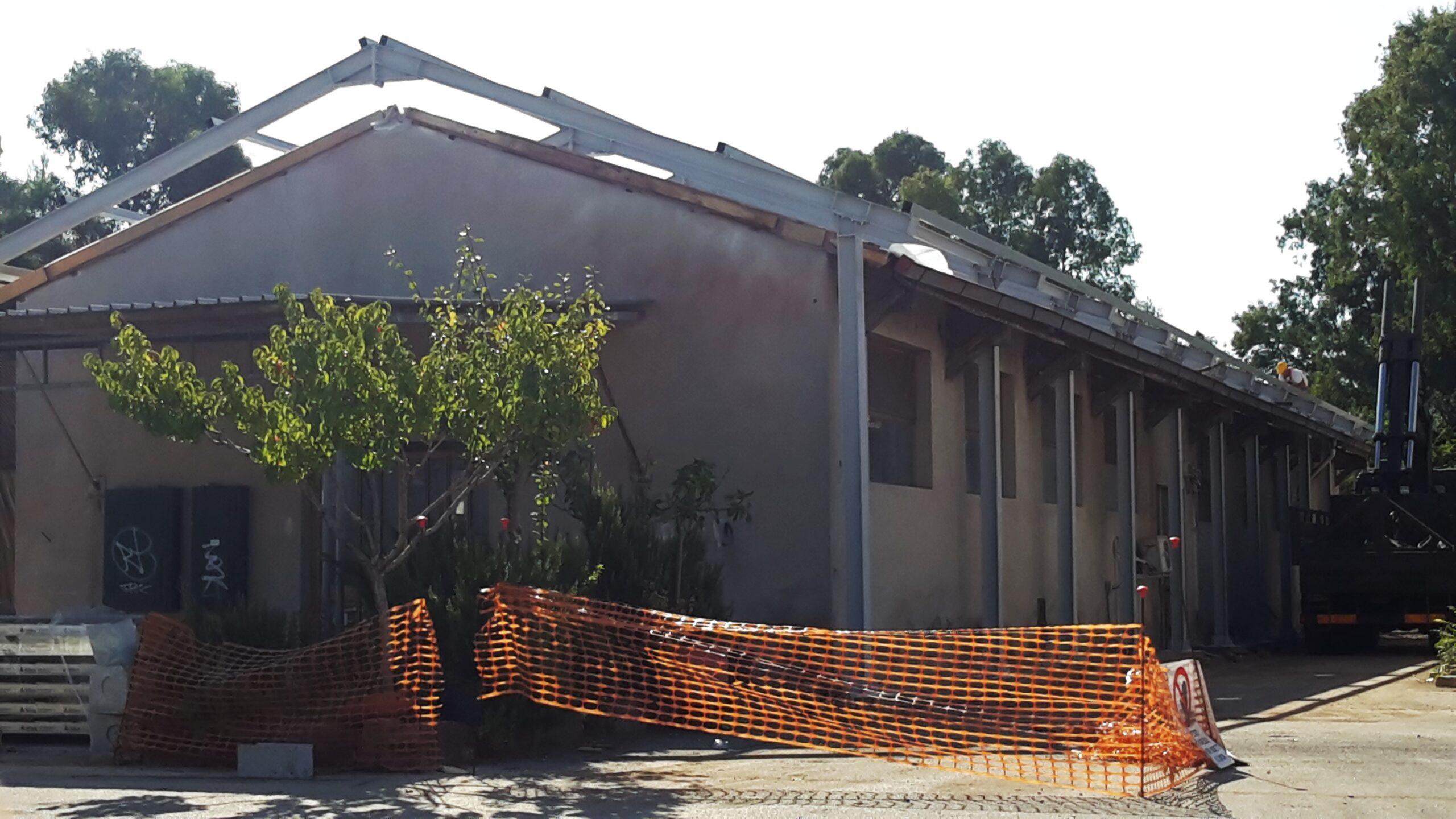 costruzione deposito